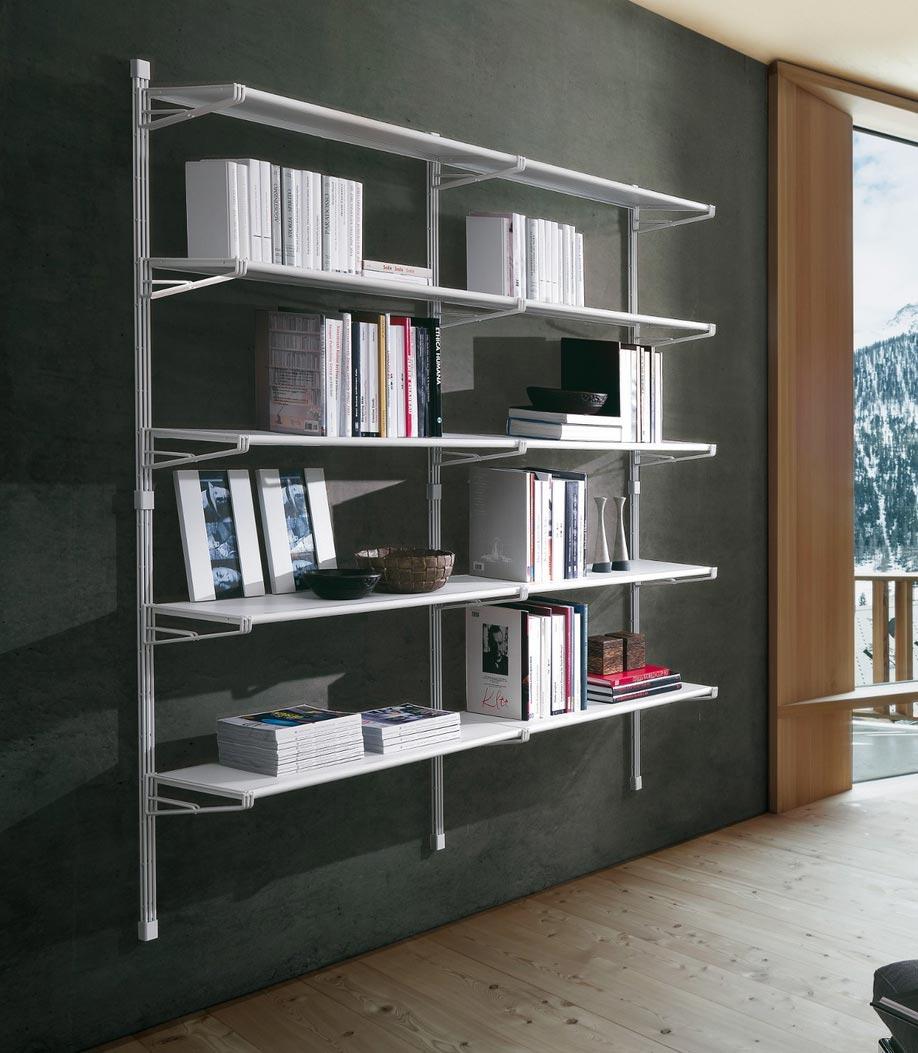Librerie da appendere a parete idee e soluzioni efficaci - Libreria a parete ...