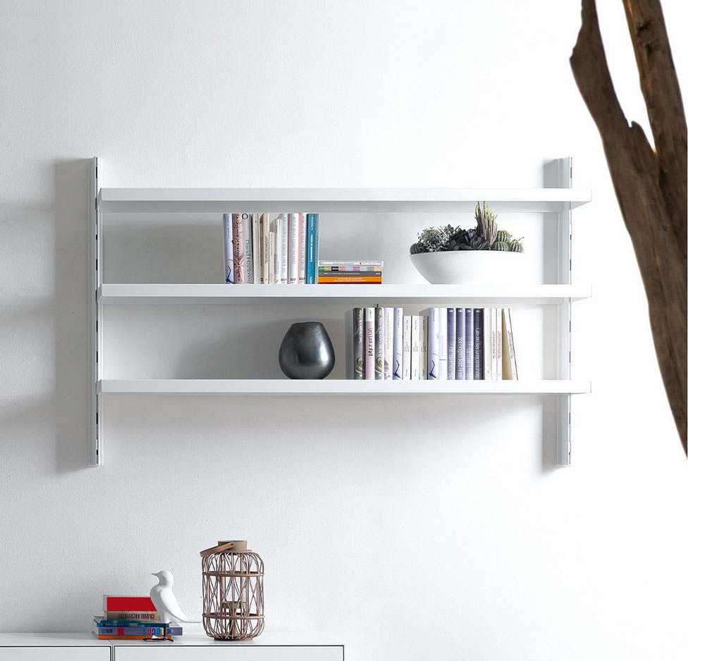 Amato Librerie da appendere a parete, idee e soluzioni efficaci. KG89