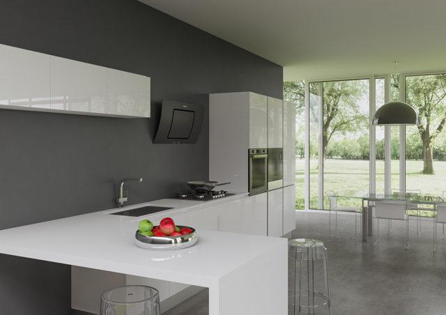 Hoover collezione Transparency ambiente cucina.
