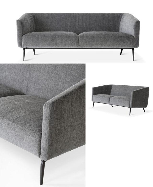 Lema sofa Kaiwa - divano a 3 posti.