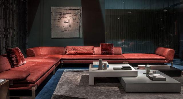 Salone del Mobile 2016 - tendenza divani : Baxter - divano Componibile ad angolo.