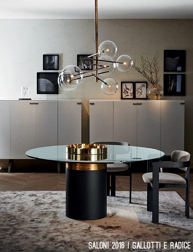 Mode e tendenze arredamento in casa e in ufficio - Tavoli gallotti e radice ...