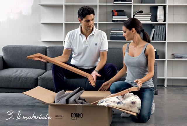 Under divani doimo personalizzabile - come cambiare rivestimento.