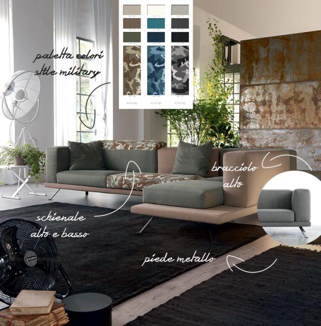 Under divano giovane personalizzazione.