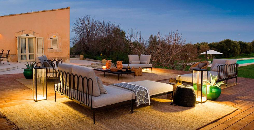 Illuminare il giardino lampadine a led e altre soluzioni - Arredi per esterni design ...