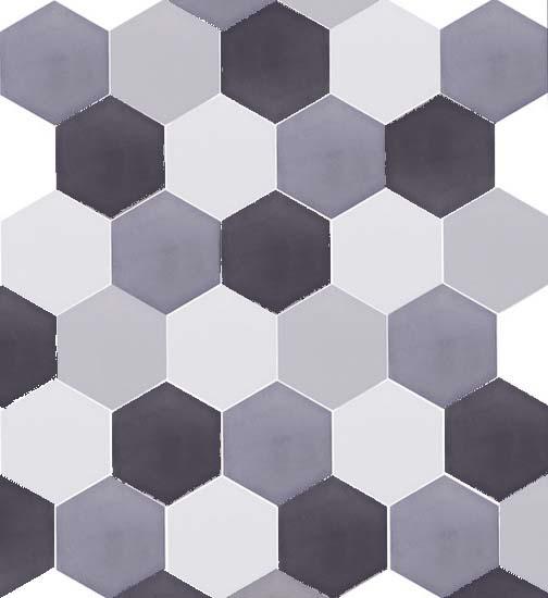 Piastrelle esagonali in casa idee e suggerimenti per la posa for Mattonelle design