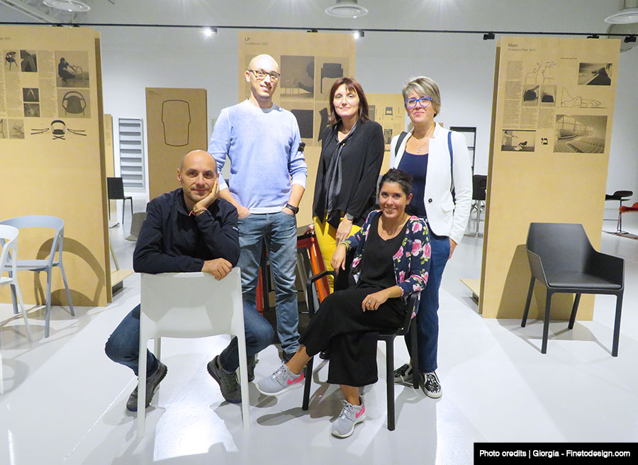 Visita design blogger presso showrrom Kristalia.