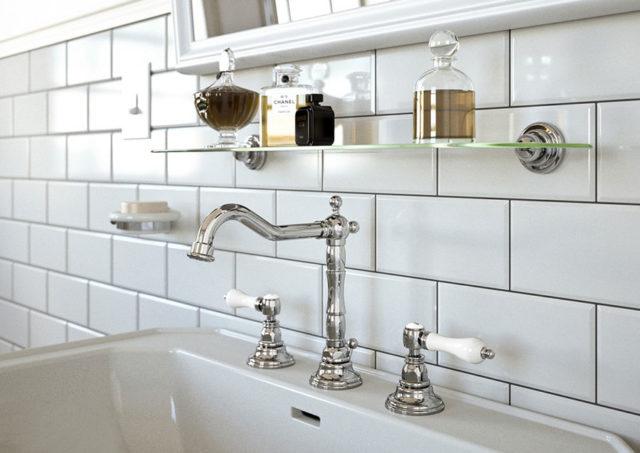 Come scegliere le piastrelle diamantate in bagno e cucina for Piastrelle cucina bianche e nere