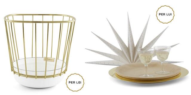 Regali di Natale di design : incipit lab vaso e vassoio Aurora.