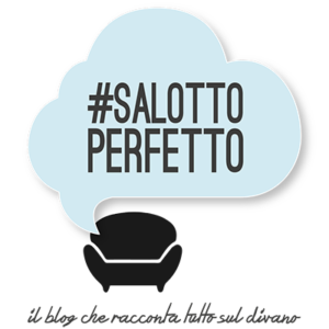 Logo ufficiale blog di interiors, living e divani - Salotto Perfetto.