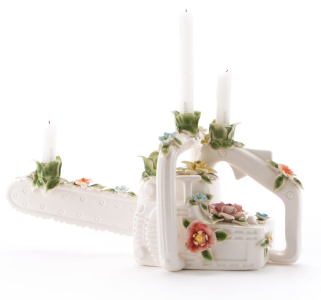 Seletti designed for christmas capodimonte vaso.