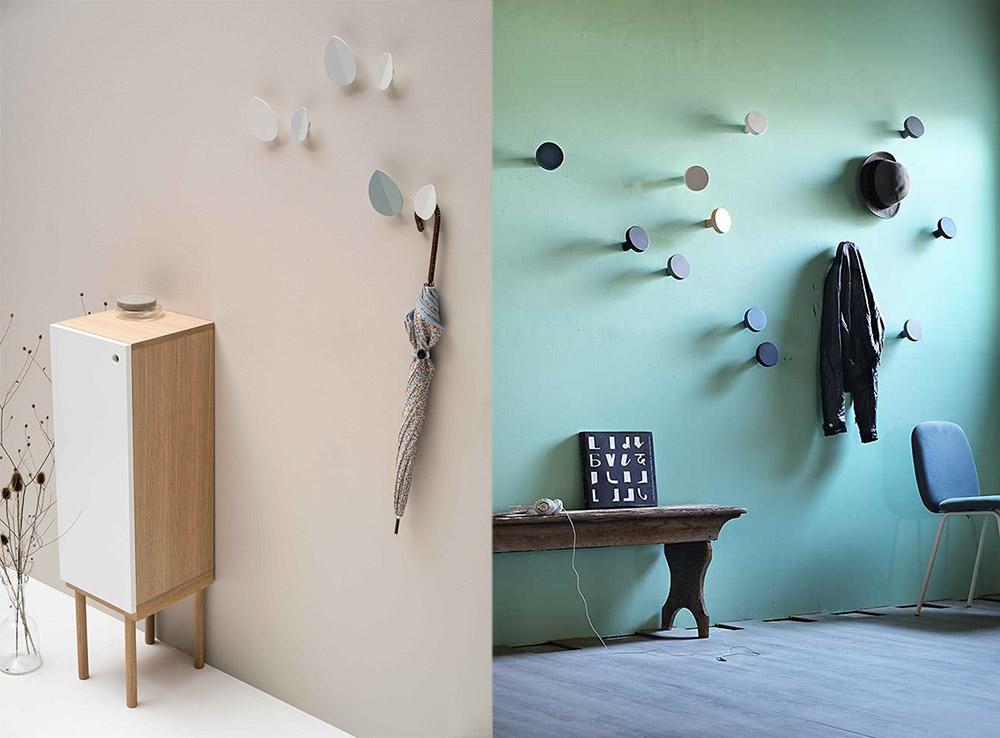 In ingresso o in camera appendiabiti da parete per tutti - Appendiabiti da bagno ...