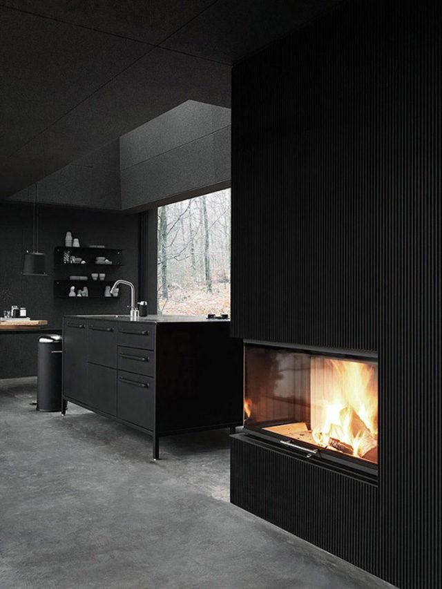 Cucina neo dark - photo reference Design milk
