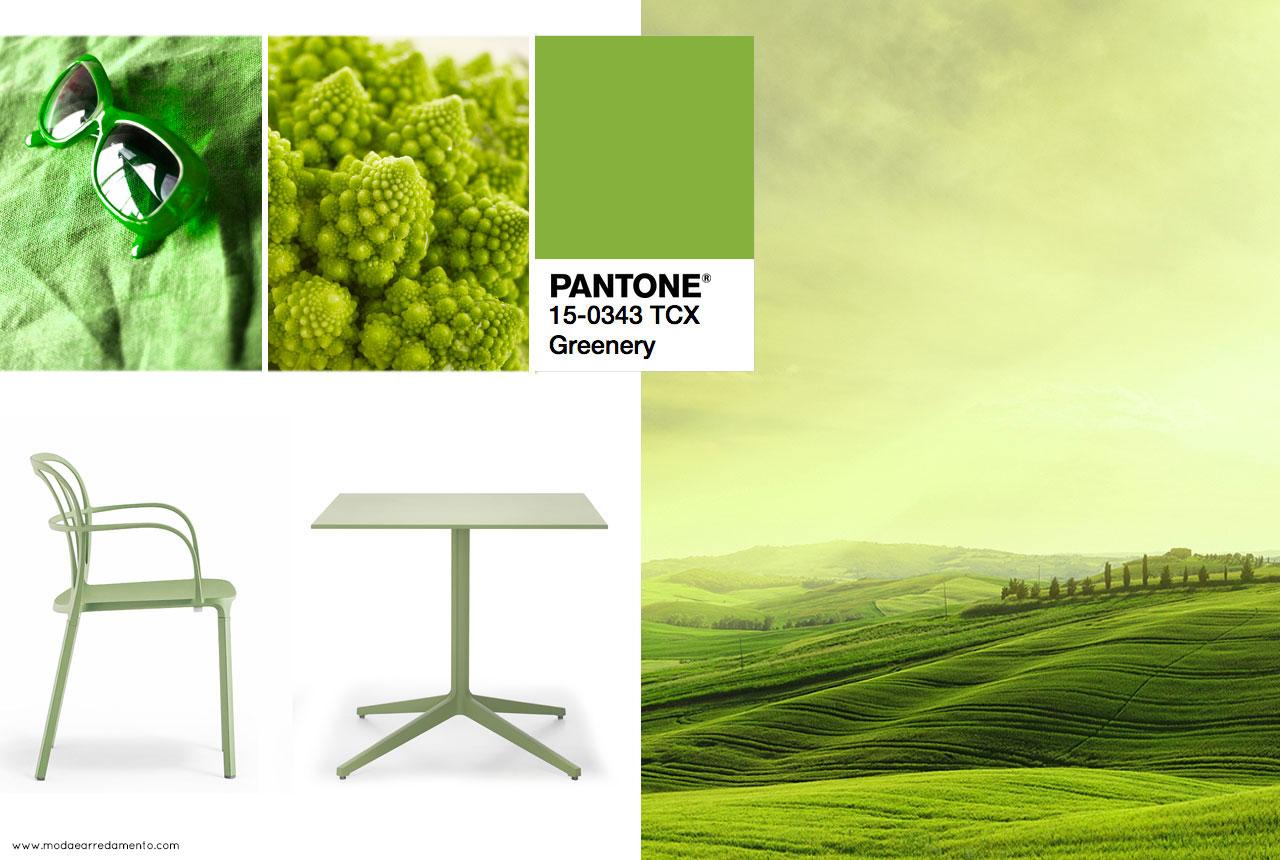 2017 color trends pantone - Colore Dell Anno 2017 Greenery E La Freschezza Della Natura