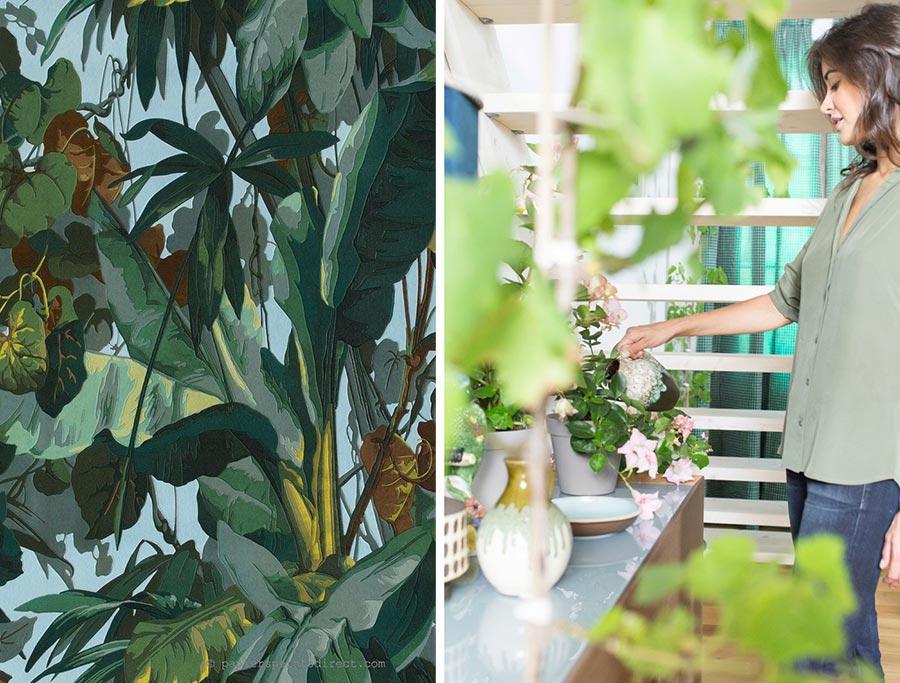 Home Trends 2017 adv Novamobili dal sapore tropicale.