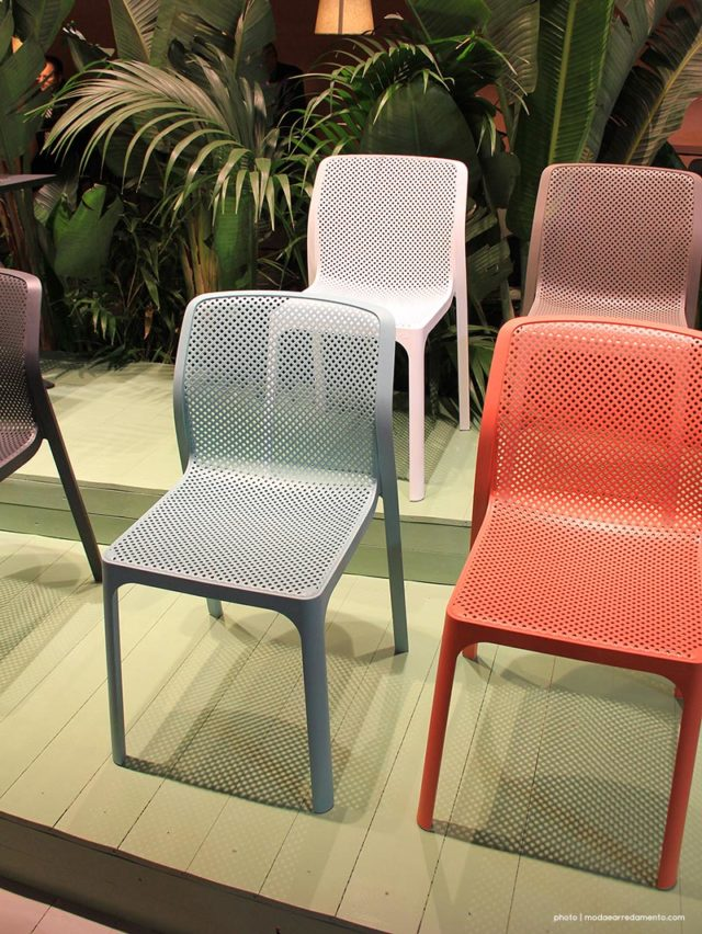 Nardi outdoor stand Milano Salone Mobile - 5