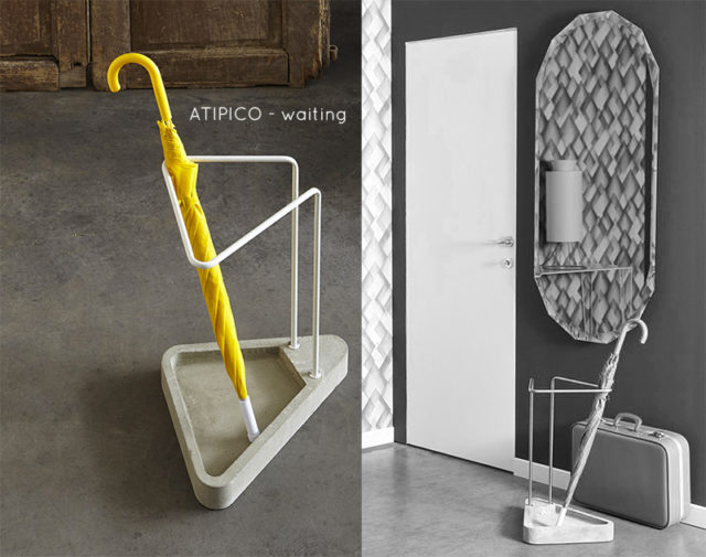 Portaombrelli di design - Atipico Waiting