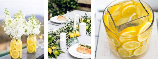 Decorare la tavola in estate con idee semplici.