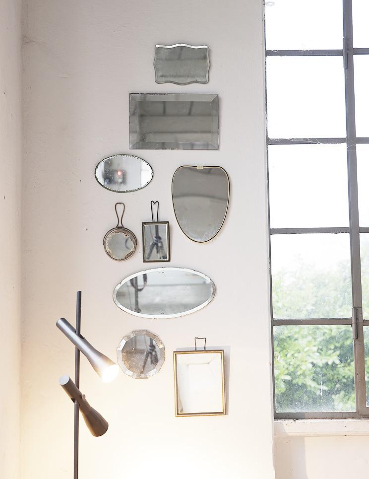 Idee originali per decorare le pareti senza carta da parati - Specchi in casa ...