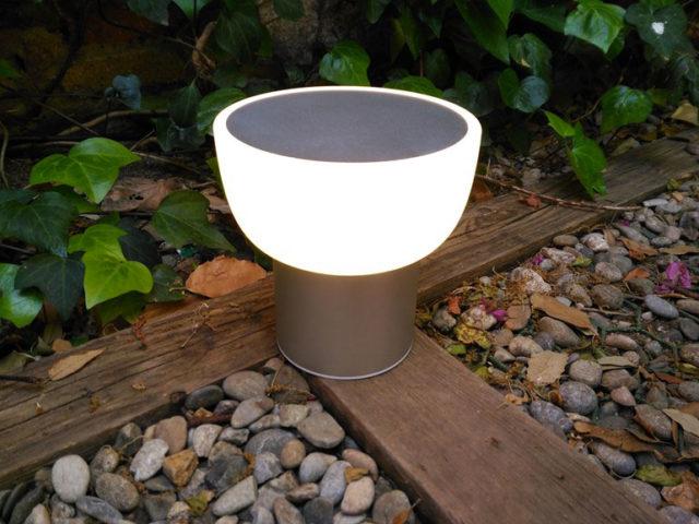 Patio Alma Light luce da esterno senza fili per tavolo o per terra.