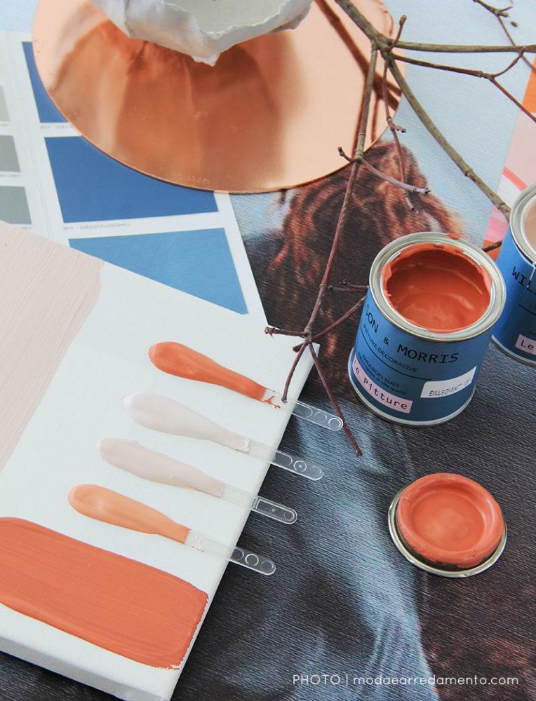 Paletta colori atunno 2017 - Willson and Morris