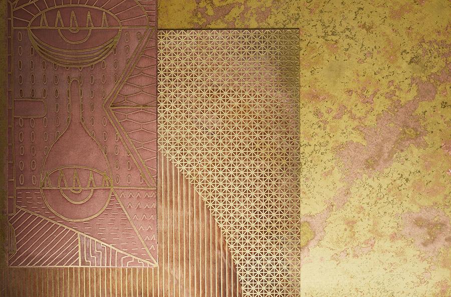 Erosion nuova collezione di metalli di De Castelli.