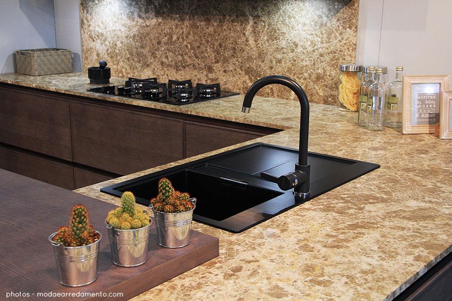 Doimo cucine- speciale report da Casa Moderna 2017 Cucina Soho Top in marmo