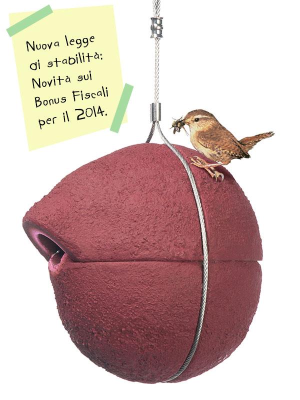Legge di stabilità: novità sui bonus fiscali per il 2014.
