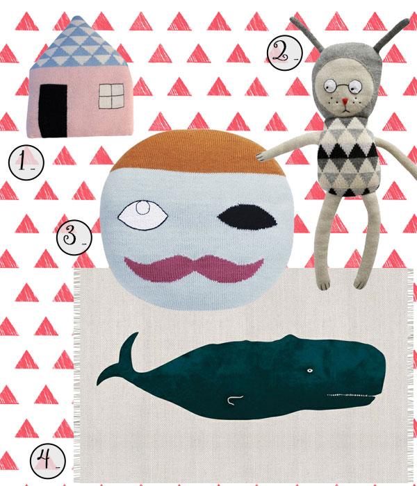 Illustrazioni per bambini moodborad