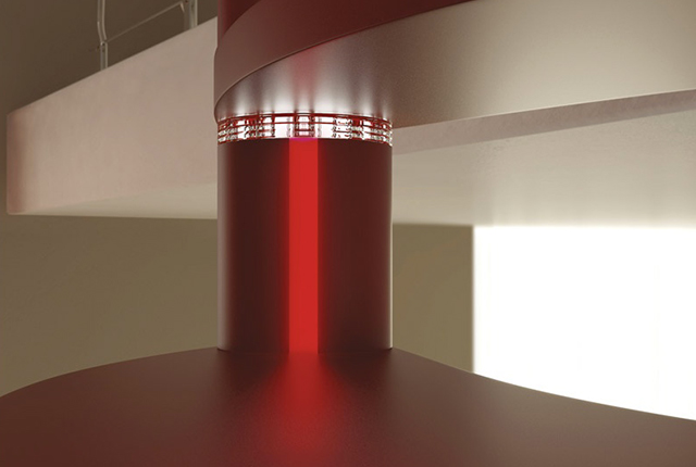 Rintal Trio luci scale dettaglio
