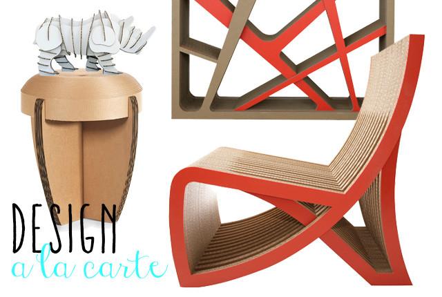 Prodotti green per la casa idee riciclo e prodotti benessere - Costruire mobili in cartone ...
