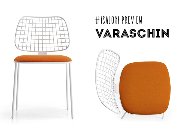 Varaschin iSaloni preview - dettaglio sedia Summer set