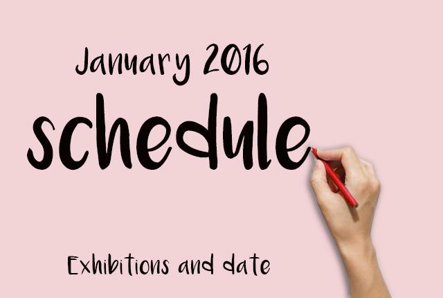 Gennaio 2016 - fiere settore arredo.