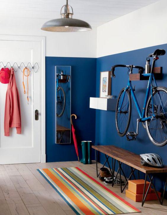 Esempio pittura bicolo interno casa - pareti.
