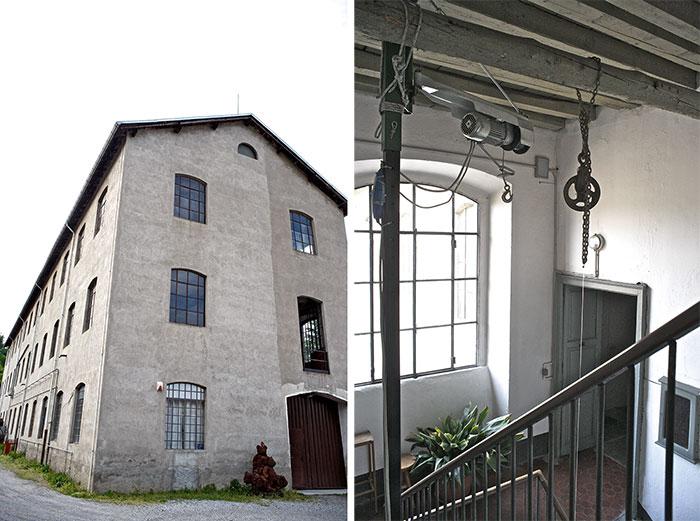 Elementi distintivi di una casa in stile factory.