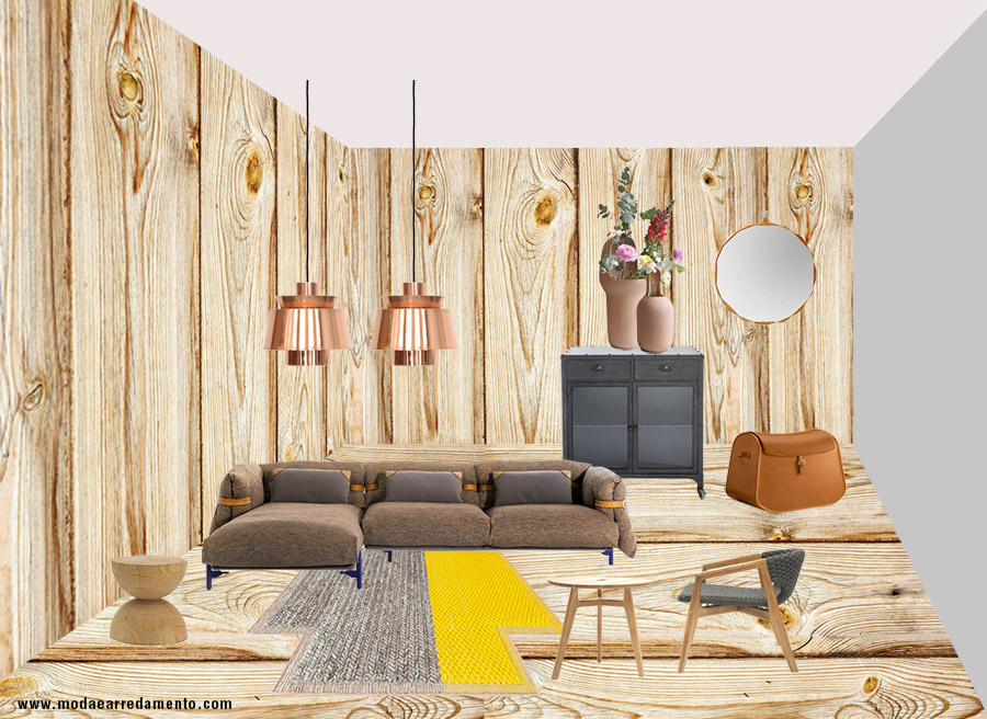 Tendenze arredo 2017 mix and match tra country e industrial for Arredo country