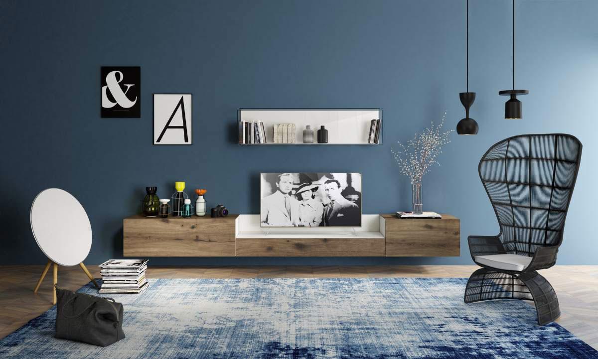 Lampadario Con Punto Luce Decentrato scegliere la dimensione del tappeto: salotto, camera e sala