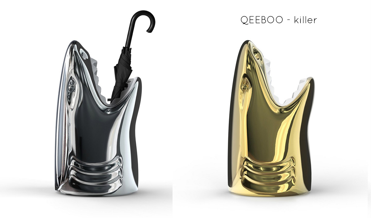 Portaombrelli di design - Killer queboo