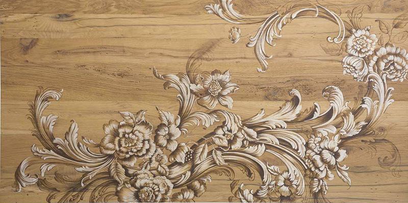 Tavoli d'arte di Mariani Affreschi - Soggetto dipinto su legno nr 3