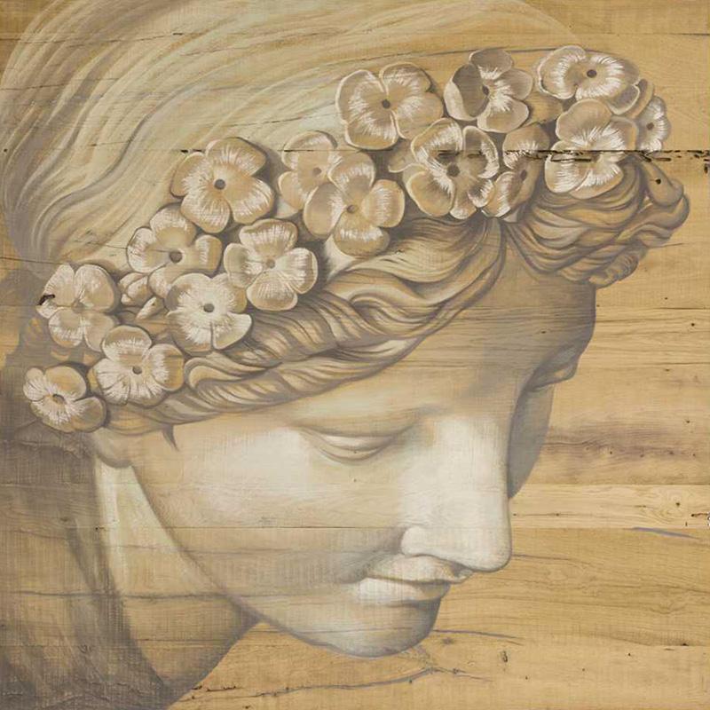 Tavoli d'arte di Mariani Affreschi - Soggetto dipinto su legno nr 4