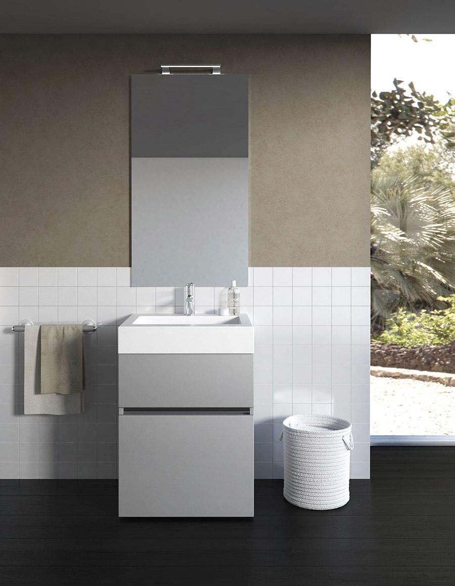 Bagni piccoli come arredare un bagno funzionale ma di design for Piccoli mobili design