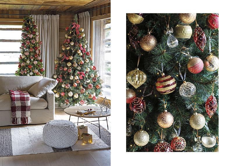 Atmosfere di Natale in casa: gli alberi di Natale di Coin casa - addobbi oro