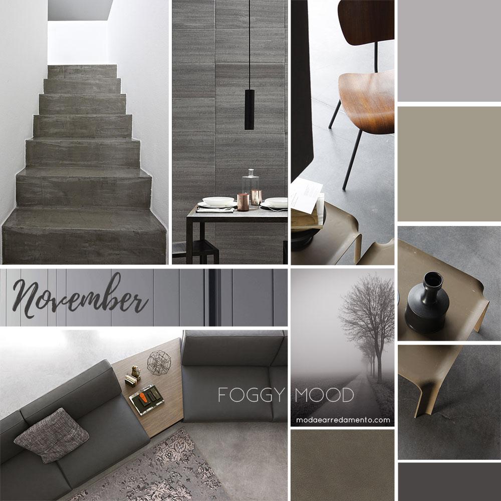 Foggy mood la casa in grigio modaearredamento for Arredamento design online