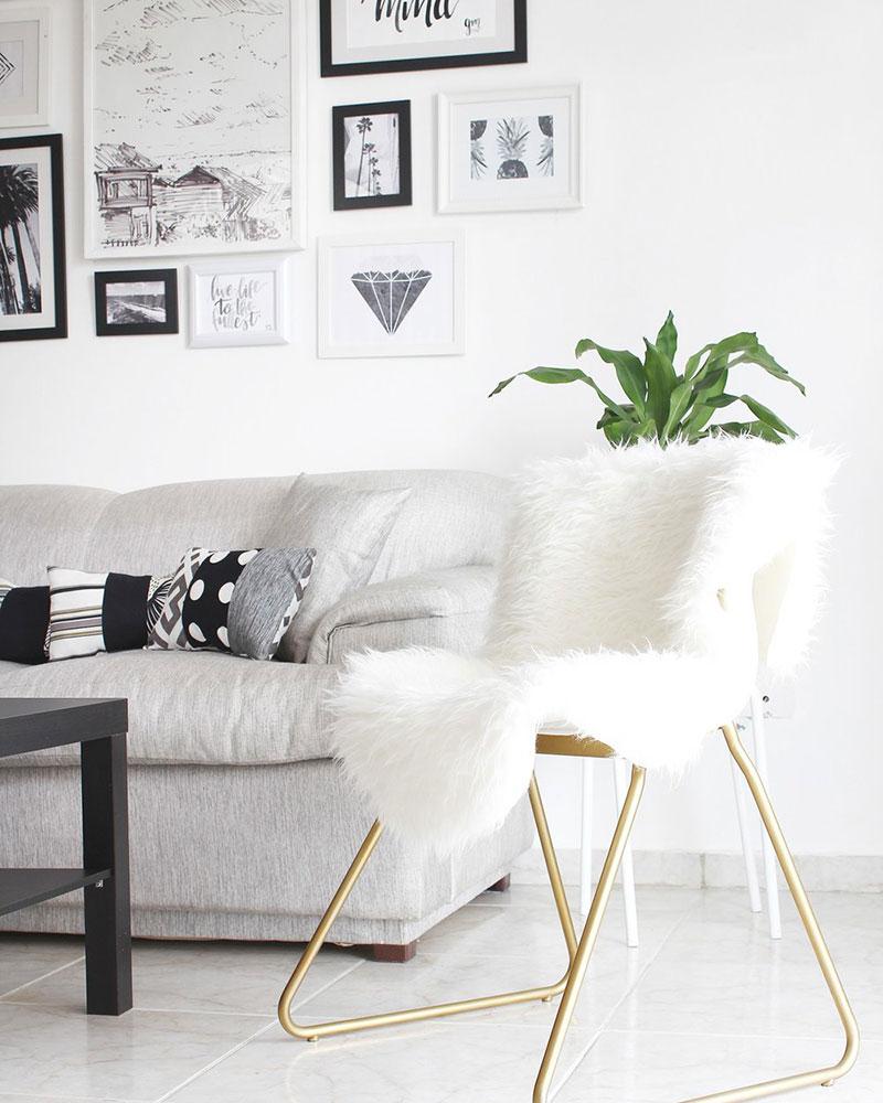 Pelliccia sintetica per casa Tejn di Ikea