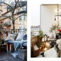 Come arredare il balcone in inverno - idee e piante.