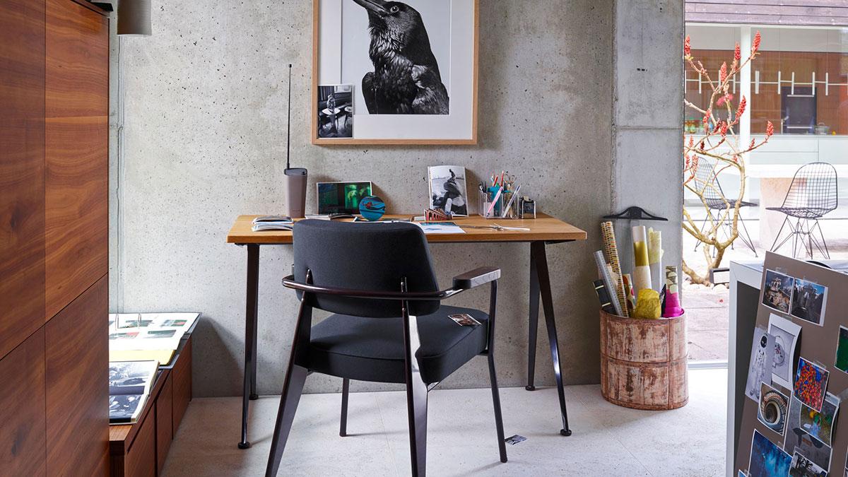 Vitra arredare l'ufficio a casa con lo stile nordico.