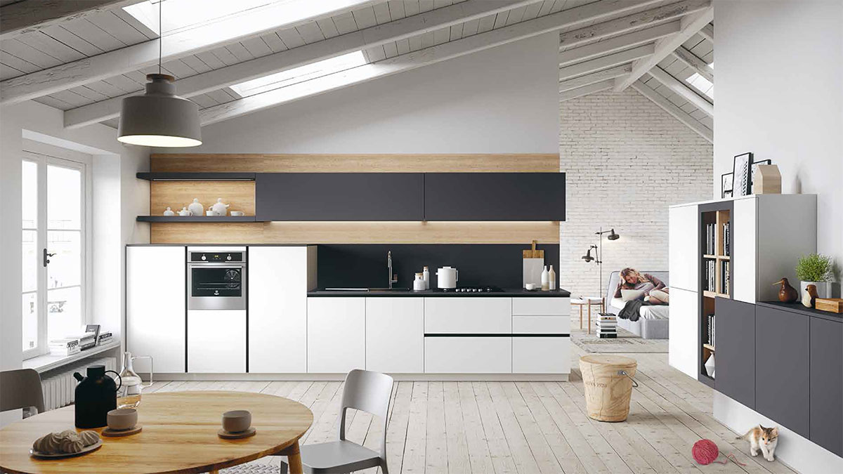 Everyone-Snaidero-cucina-design-giovane-First-bianca