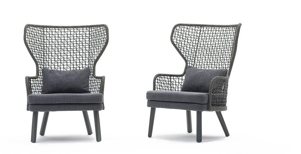 Emma bergerè design Monica Armani di Varaschin design outdoor therapy.