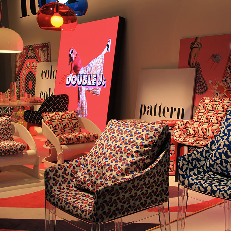 Salone del Mobile 2018 - Kartell Double Pattern