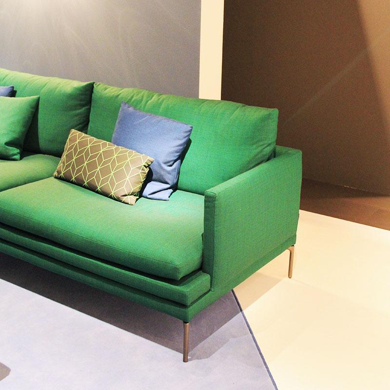Zanotta Salone del Mobile 2018 - divnao verde.